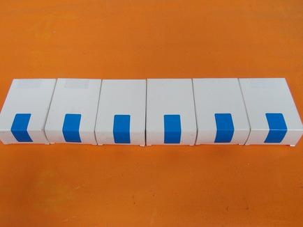 盒子转角贴标图
